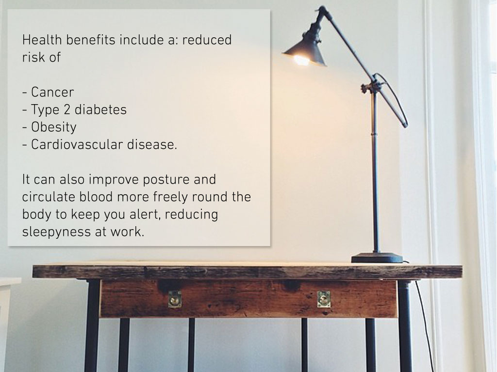 Desk-benefits