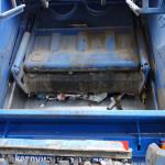 Inside rear truck