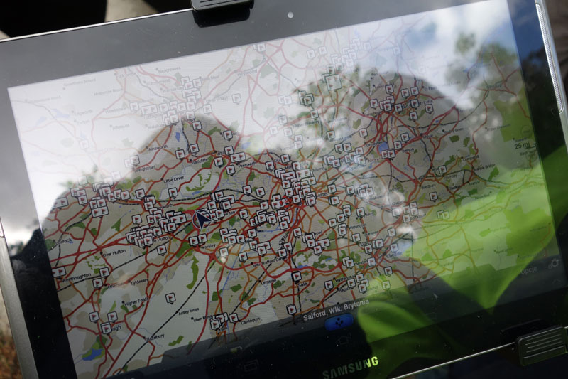 Tablet-with-waste-locations