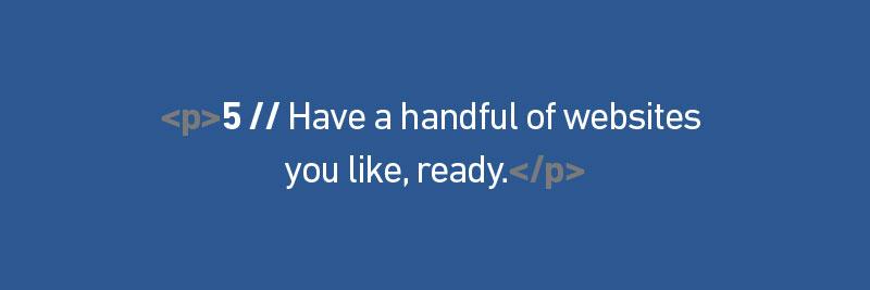 prepare-some-websites