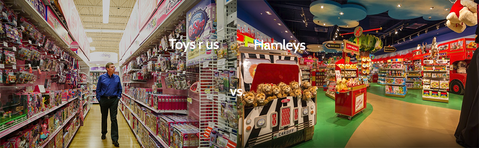 toys r us vs hanleys
