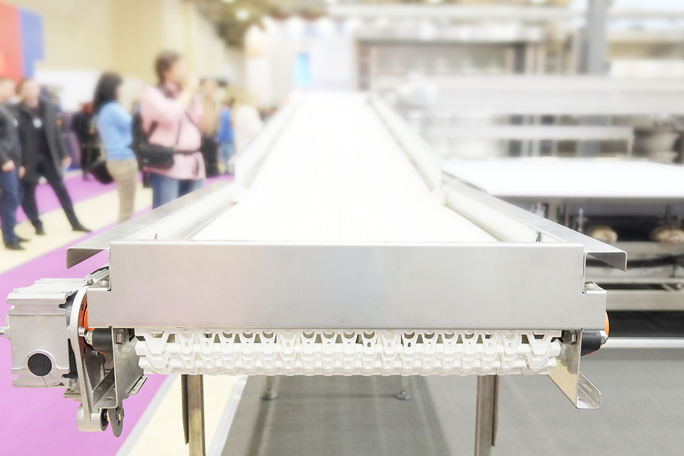 food manufacturing production line