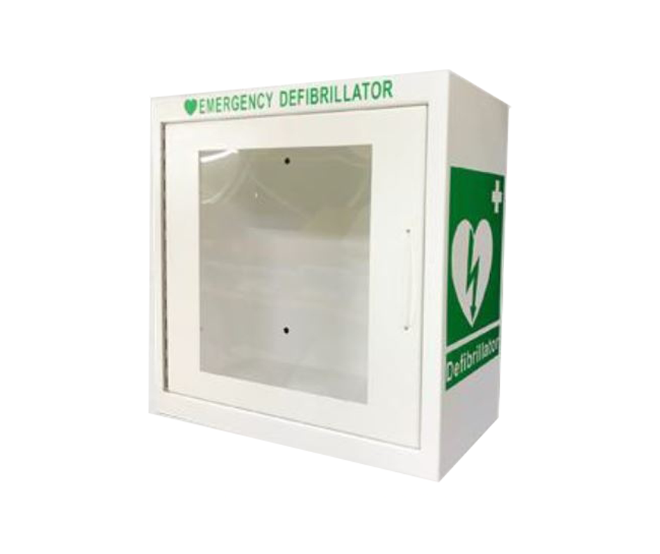 indoor defibrillator cabinet