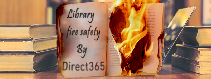 library fire safety