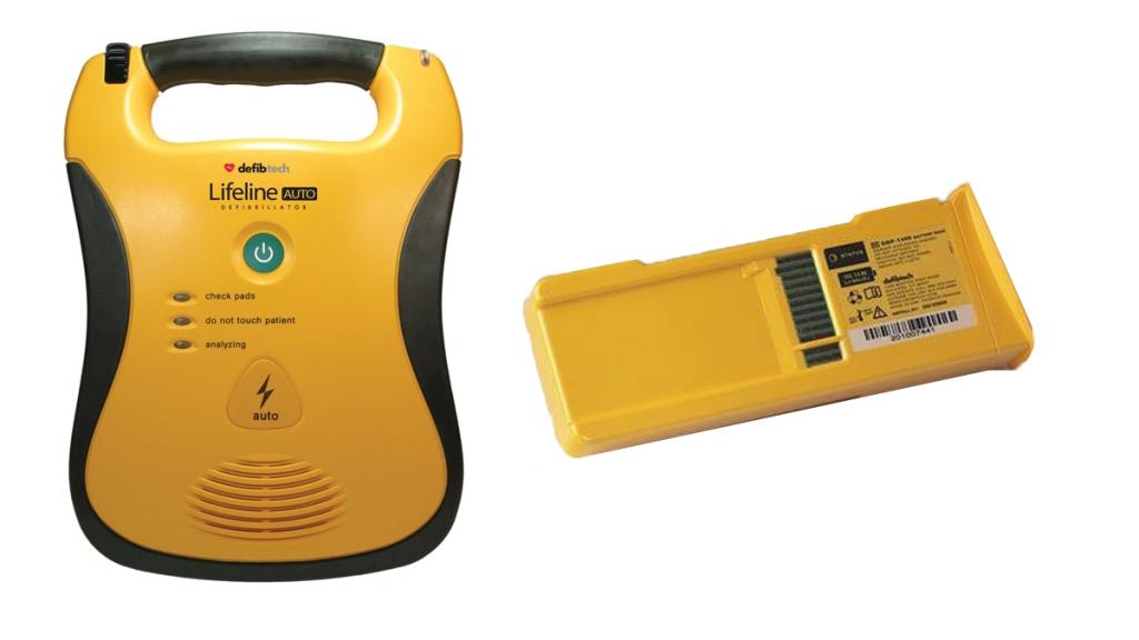 lifepak defib & batteries