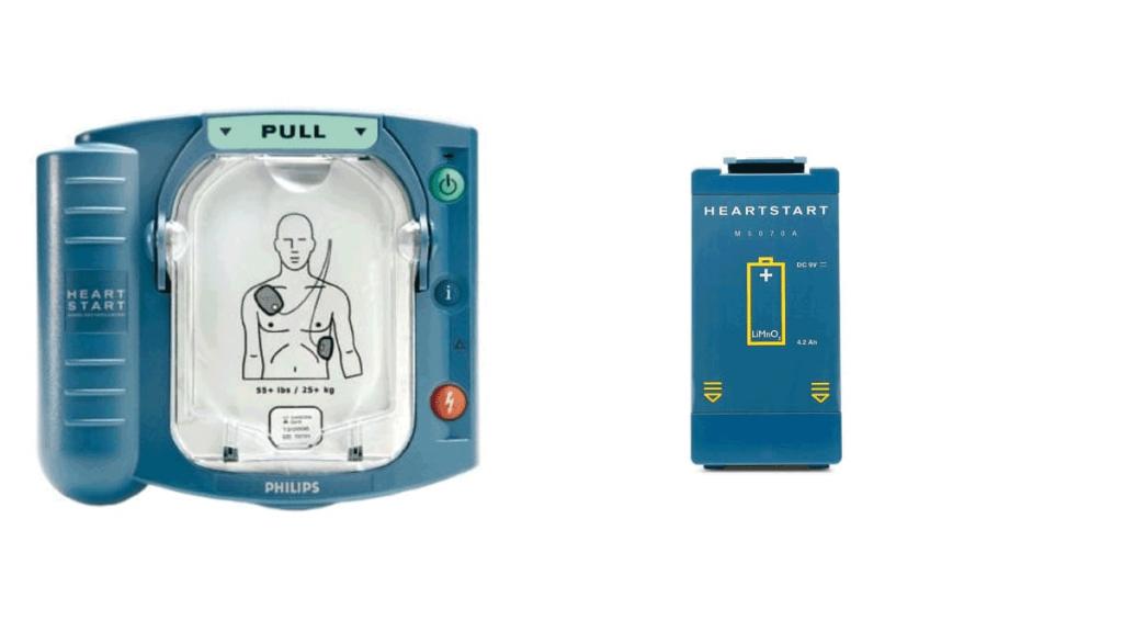 phillips-heartstart-&-battery