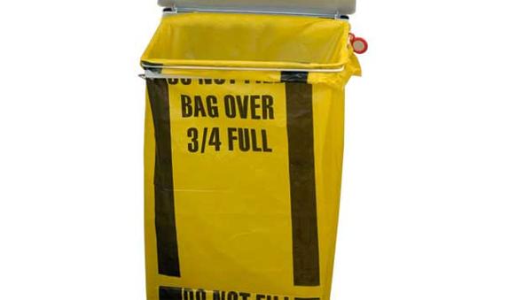 offensive waste bin