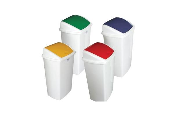 swing bins plastic 50