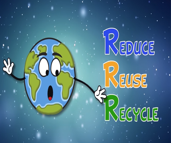 school recycling video