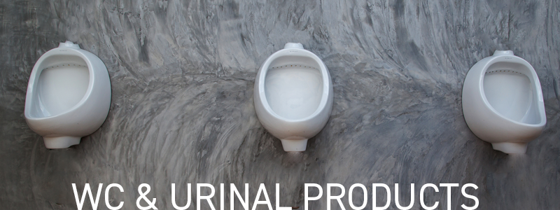 wc & urinal cleaning products banner
