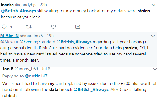 ba tweets data breach