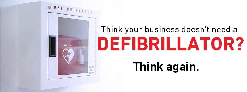 business defibrillator