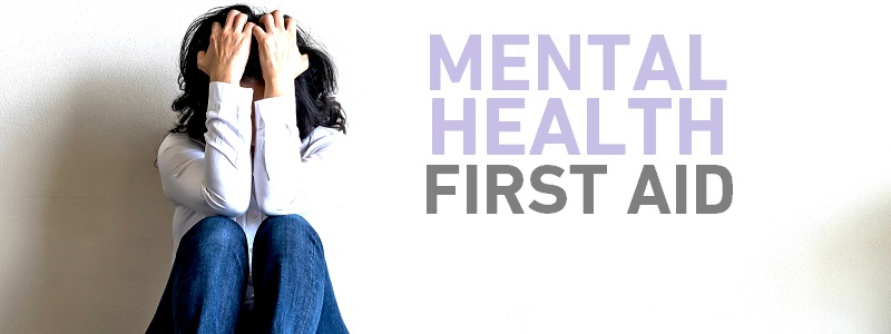 mental health first aid banner