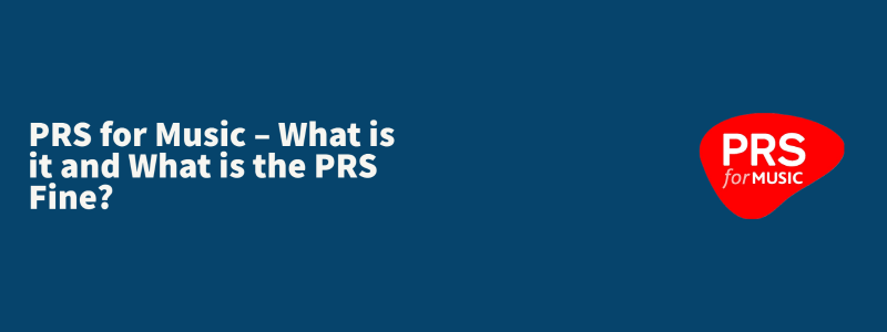 Title of the blog with the PRS logo to the right side.