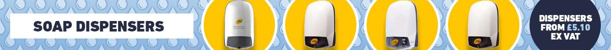 Soap & Hand Sanitiser Dispensers