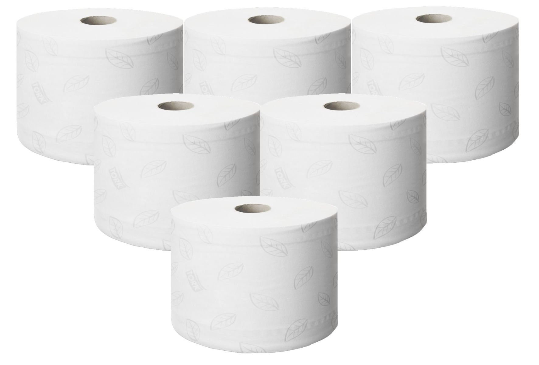 Tork SmartOne® Toilet Tissue Roll 2 Ply- 6 Rolls