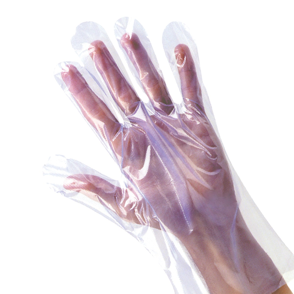 Disposable Latex Free Polythene Gloves (Box of 100)