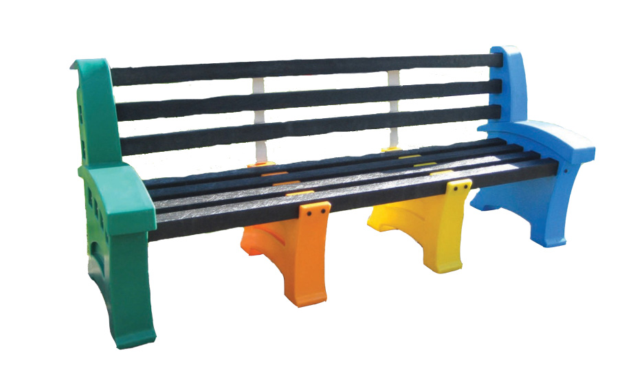 Multicoloured Seats (4 Persons)