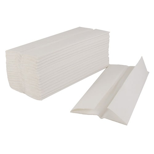 Interleaf White Hand Towel 2 Ply (Case of 20)