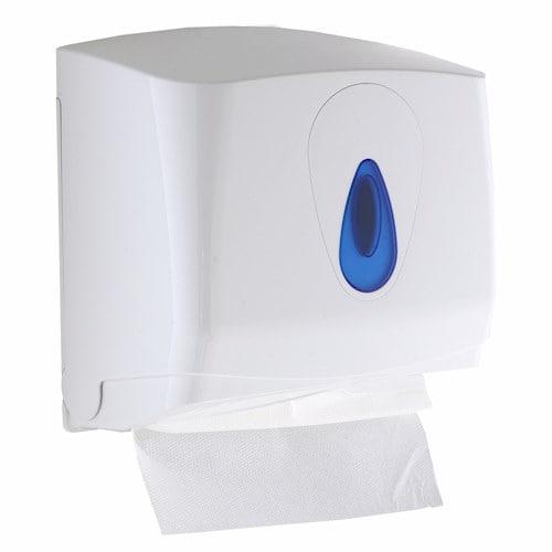 Modular Small Plastic C-fold or Multifold Paper Hand Towel Dispenser