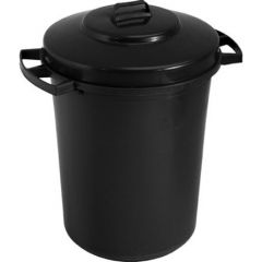 Robert Scott B Type Refuse Bin (Black)