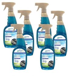 Cleanline Eco Glass and Stainless Steel Cleaner (6 x 750ml)