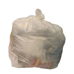 "Extra Light Density Square Bin Liners 15x24x24""  (Case 500)"