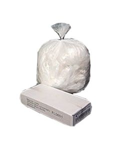 "White Pedal Bin Liner - 11x17x17"" Case of 1000"