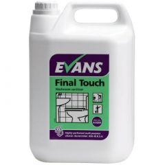 Evans Final Touch Washroom Sanitiser (5 Litre)