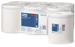 Tork Advanced Wiper 310 Centrefeed Roll White 1ply (Case of 6 Rolls) - 120155