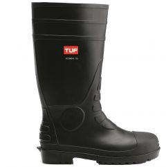 Tuf Safety Wellington Boot with Steel Midsole
