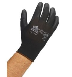 Keep Safe PU Coated Glove- Black