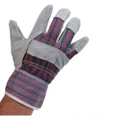 Canadian Rigger Style Split Leather Gloves