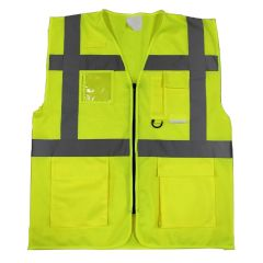 Keep Safe EN 471 High Visibility Executive Waistcoat