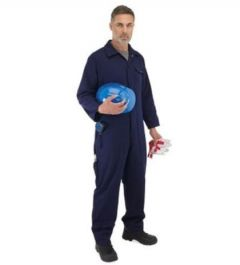 Endurance Cotton Drill Stud Coveralls