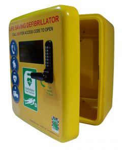 Outdoor Polycarbonate Defibrillator Cabinet 4000 Series- Unlocked