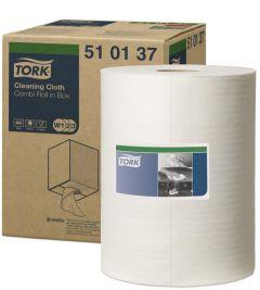 Tork Multi Cloth 510 Wiper Pak White 152m