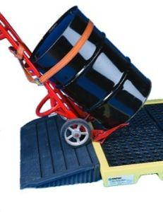 Ramp for 6 & 8 Drum Workfloor Decking