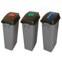 60L Grey Recycling Bin (Base Only)