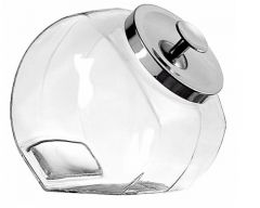 1 Gallon Sweety Jar with Chrome Lid (Pack of 4)