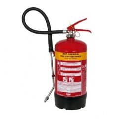 Fire Extinguisher Wet Chemical 6 Litre For A & F(K) Class Fires