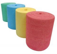 Klenzeen Medium Multi-Wipe Apertured Spunlace Cloth 4 Colours