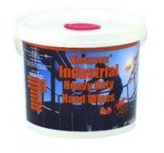 Abrasive Hand Wipes 100 Wipes Per Tub