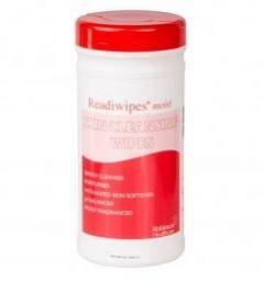 Readi Moist Skin Wipes Red Tub of 200 Wipes