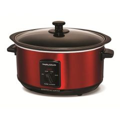 Morphy Richards Sear & Stew 3.5L Slow Cooker in Red 48702