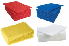Hand Scourer Pads in 4 Colours