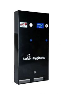 Autovend Dual Column Washroom Vending Machine Black