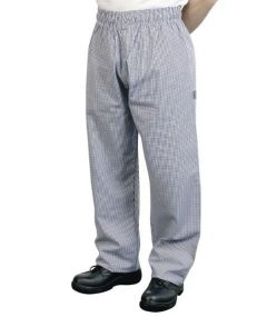 Bonchef Baggy Trousers- Check