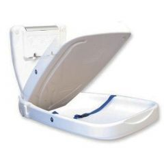 Babyminder Vertical Baby Changer in White