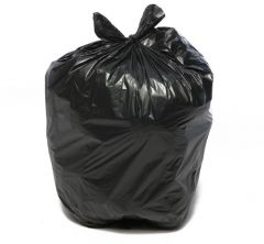 Black Medium Duty Refuse Sack (Roll of 10)